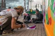Morgan Davy - Leg Cast - E. Croydon Station