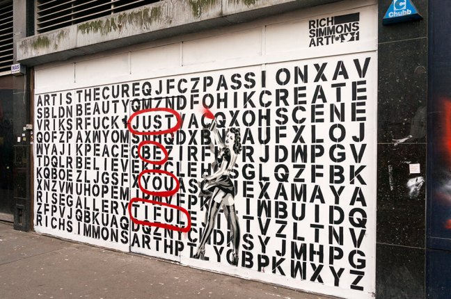 Rich Simmons - Word Search - Just Be You Tiful
