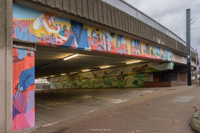 Daniel MacCarthy - Jubilee Underpass Croydon