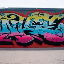 Legal Graffiti Wall - Inkie