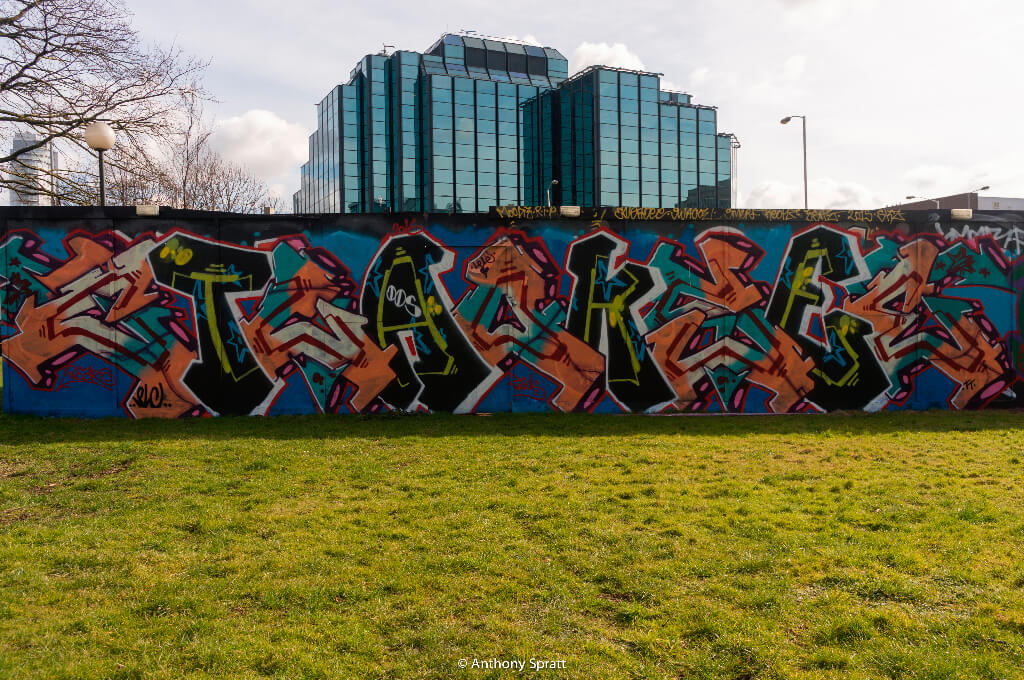 Legal Graffiti Wall No. 2 – Croydon Street Art