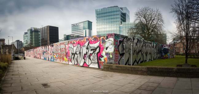 Legal Graffiti Wall and Bernard Weatherill